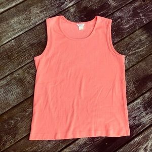 Peach Colored CHRISTOPHER & BANKS Tank